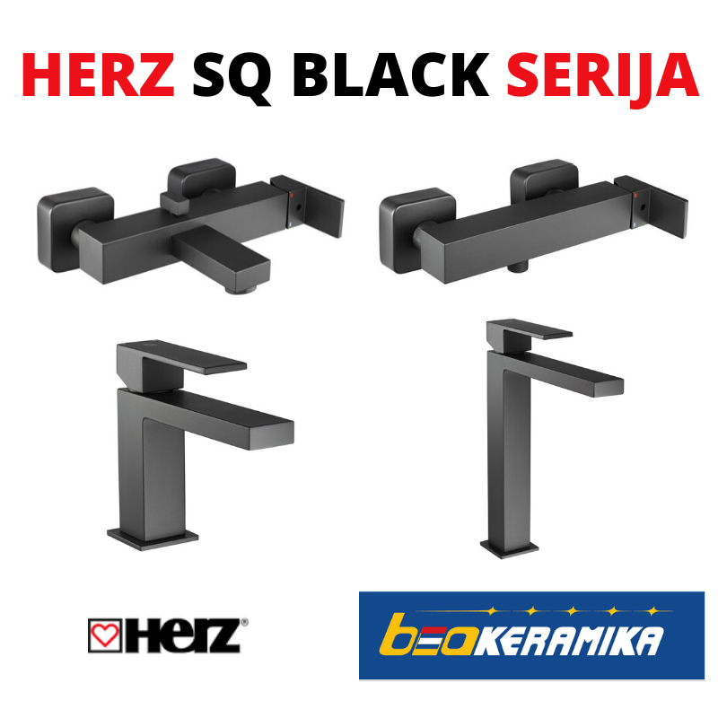 HERZ SQ BLACK